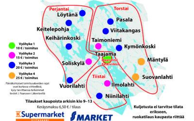 Kauppakassipalvelu Viitasaarella